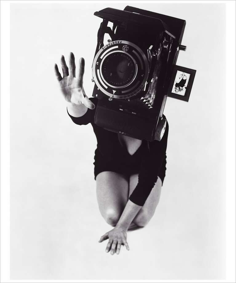 "Lynn Hershman Leeson, ""Reach,"" from the series ""Phantom Limb"" (1986) Photo: Lynn Hershman Leeson, Anglim Gilbert Gallery"