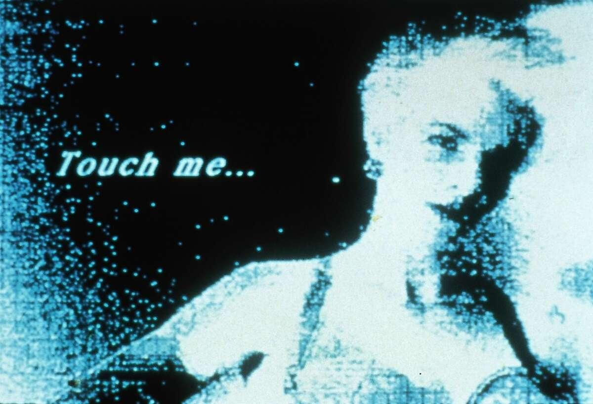 """Lynn Hershman Leeson, """"Deep Contact (video still)"""" (1984)"""