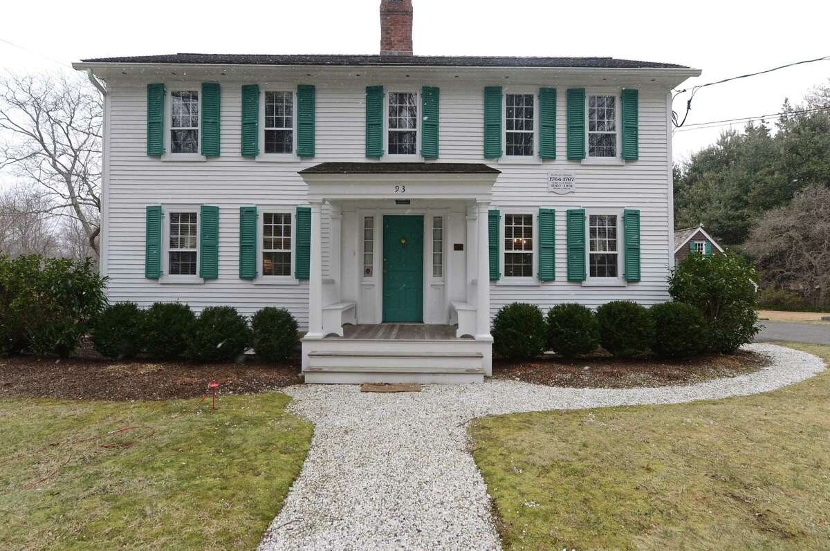Ed Gerber's historic home at 93 Cross Highway in Westport was once home to George Hand Wright, who was considered by many to be the founder of the Westport Artists Colony.