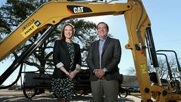 Chief Administrative Officer Corinna Holt Richter and General Manager Peter John Holt have take over Holt Cat from their father. The two are co-owners of the company.