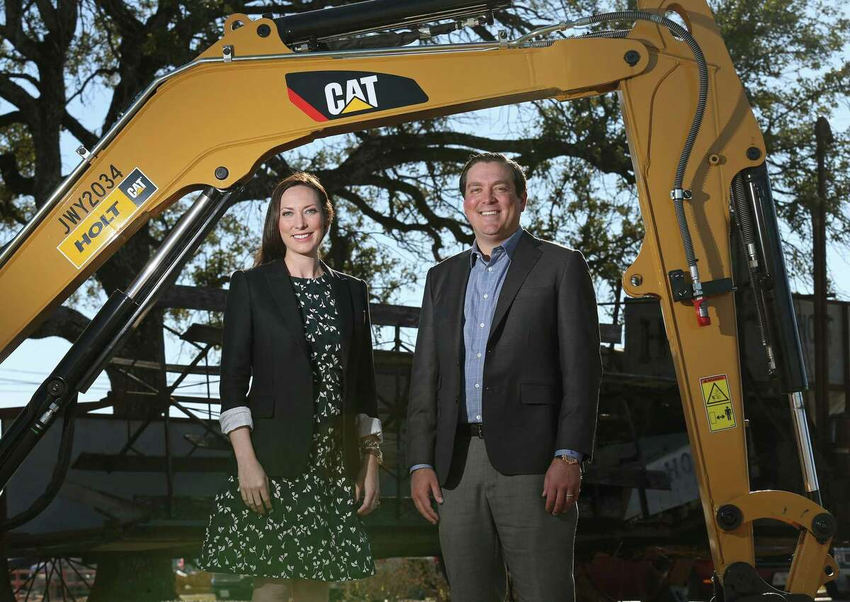 Corinna Holt Richter (left) and Peter John Holt will take over Holt Cat's operations in January. Richter will become president and continue in her role as chief administrative officer, while Holt will become CEO and continue as general manager.