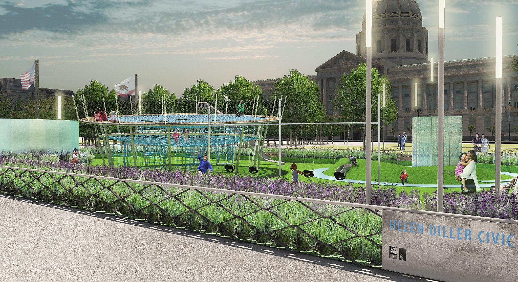 Rejuvenating Sf Civic Center Plaza A Challenge Beyond