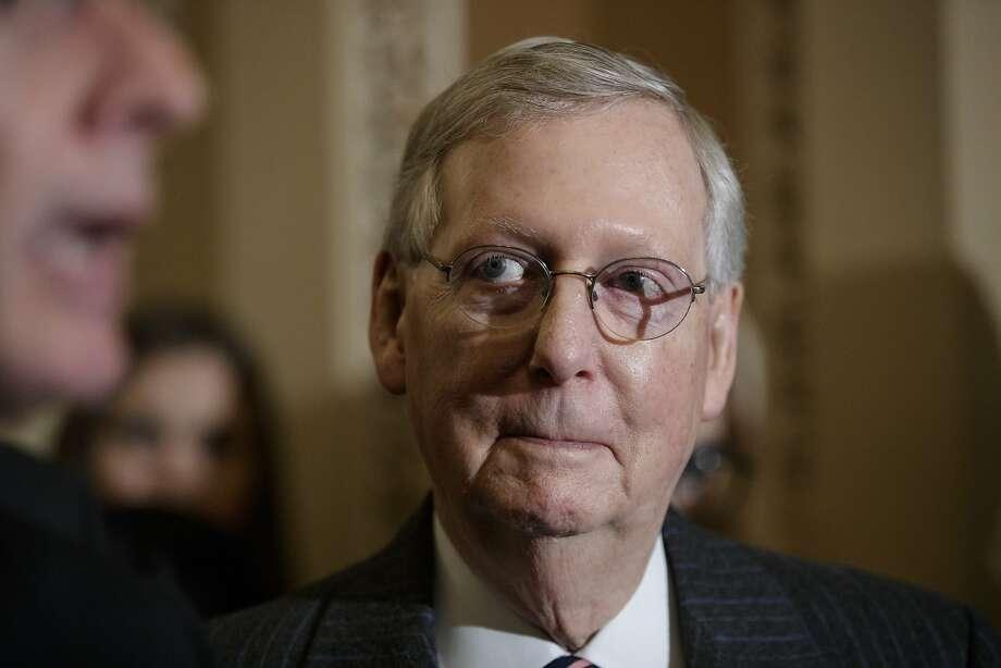Mitch McConnell used an arcane Senate rule to quiet Elizabeth Warren. Photo: J. Scott Applewhite, Associated Press