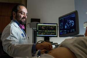 Dr. Alireza Shamshirsaz, an Iranian-born professor of obstetrics and gynecology at Baylor College of Medicine, is part of theTexas Children's Fetal Center.