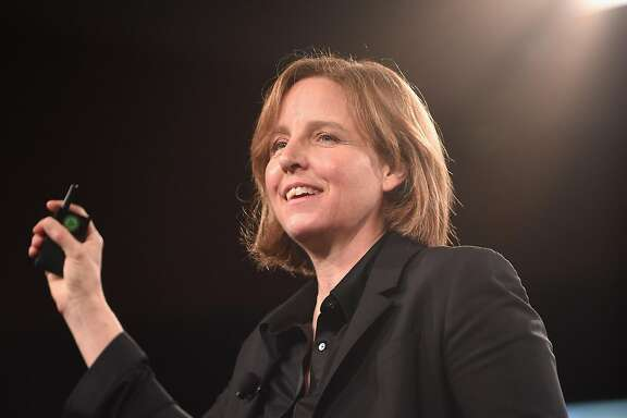 RANCHO PALOS VERDES, CA - FEBRUARY 07:  The 3rd U.S. Chief Technology Officer, Entrepreneur, & Engineer Megan Smith speaks onstage during The 2017 MAKERS Conference Day 2 at Terranea Resort on February 7, 2017 in Rancho Palos Verdes, California.  (Photo by Emma McIntyre/Getty Images for AOL)
