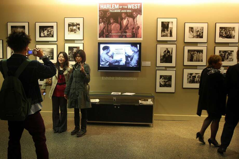 """Exhibition """"Harlem of the West...Revisited"""" at the Jazz Heritage Center in SF's Fillmore Jazz District in San Francisco,  Calif., on Friday, January 30, 2009. Photo: Liz Hafalia, The Chronicle"""