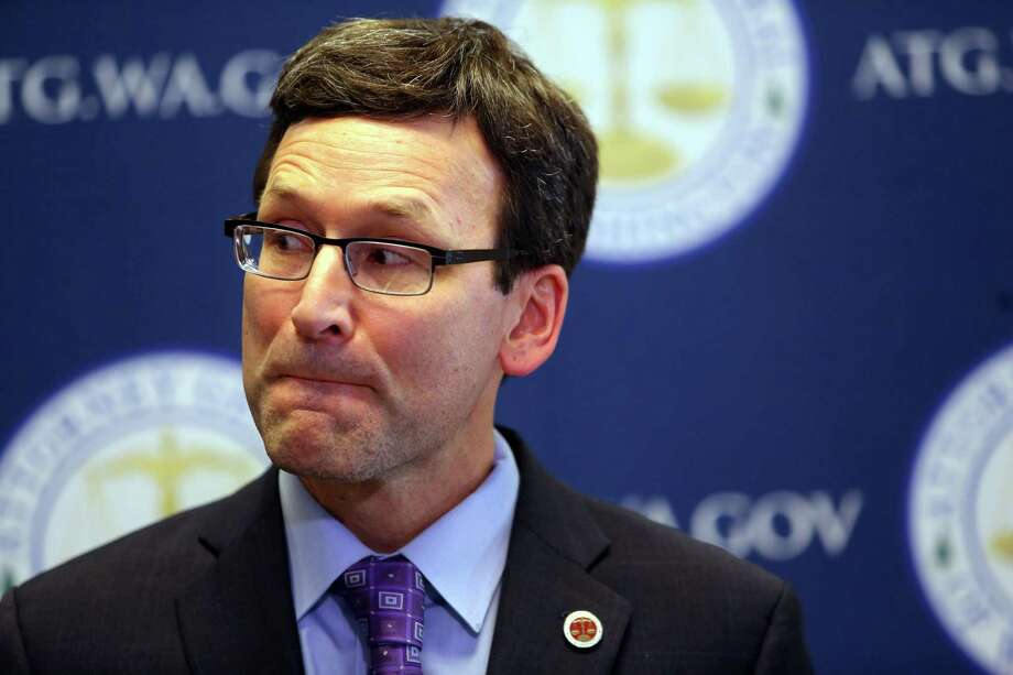 "Washington State Attorney General Bob Ferguson: ""In this case, the Trump administration's refusal to combat global climate change is not only dangerous, but unlawful."" Photo: GENNA MARTIN, SEATTLEPI.COM / SEATTLEPI.COM"