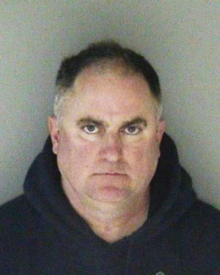 Daniel Black, a former Livermore police officer, pleaded no contest Thursday to one count of engaging in lewd conduct in public. The plea deal was reached on the eve of trial. Photo: Alameda County Sheriff's Office