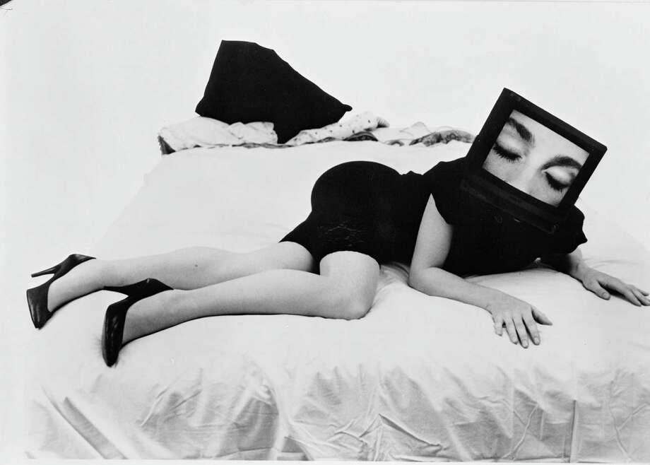 "Seduction from the series Phantom Limb, 1985. The exhibition ""Civic Radar"" continues at Yerba Buena Center for the Arts through May 21. Photo: Courtesy Lynn Hershman Leeson"