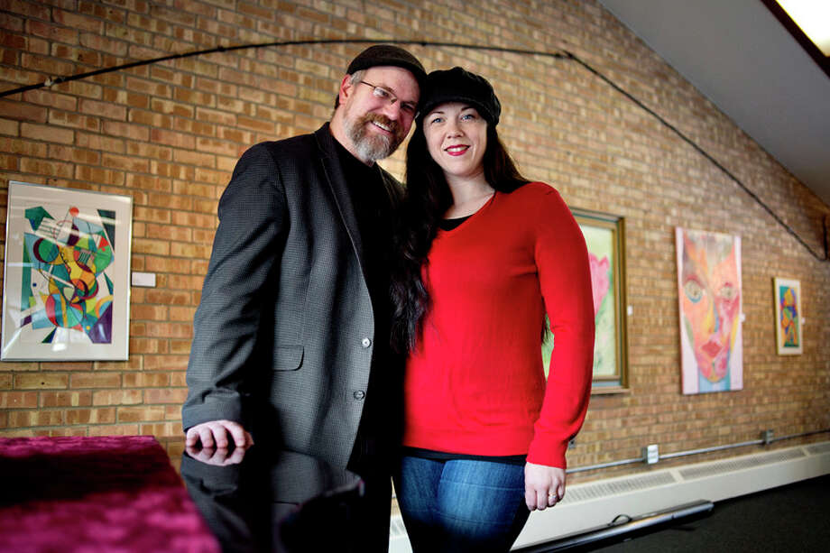NICK KING | nking@mdn.net  Laura and Dexter Brigham will present A.R. Gurney's play Love Letters  on Tuesday, February 14, at Creative 360 in Midland. / Midland Daily News