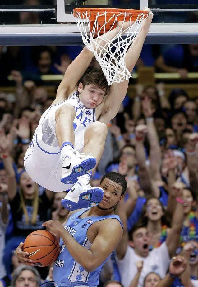 Allen, Duke top North Carolina - Times Union