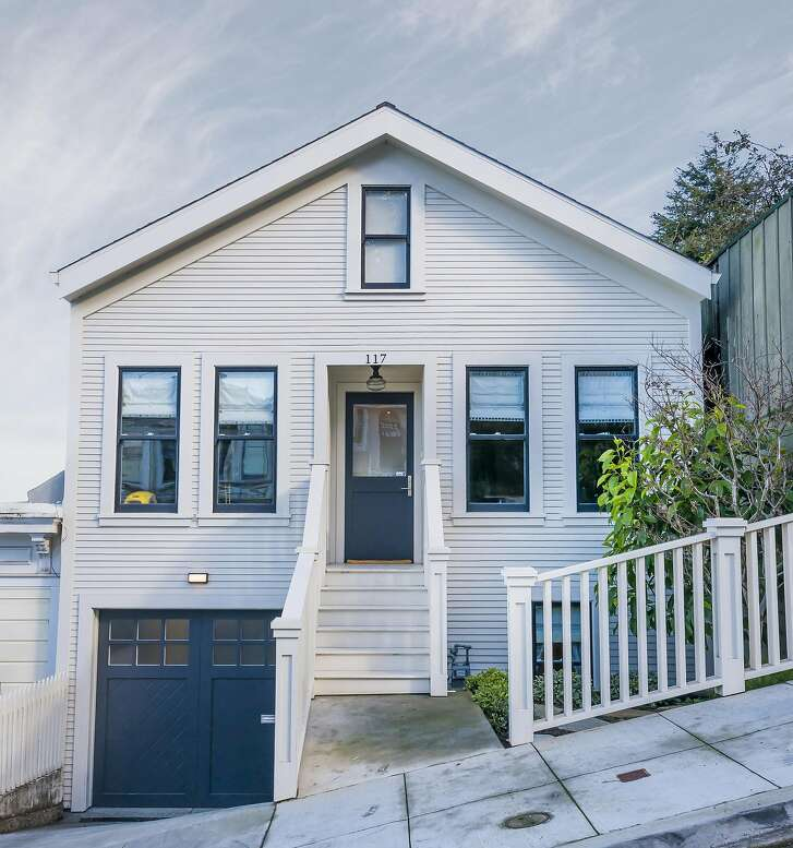 The Bernal Heights trilevel is available for $2.785 million.