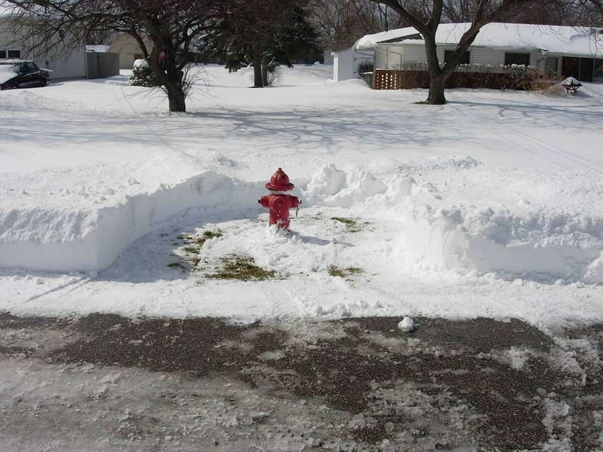 A fire hydrant cleared of snow can help firefighters save precious time.