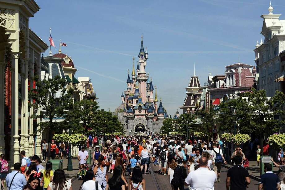 Walt Disney Co. plans to take full ownership of its ailing theme park in Paris to get the resort under control after 25 years of ups and downs at its first and only outlet in Europe. Photo: AFP /Getty Images /File Photo / AFP or licensors