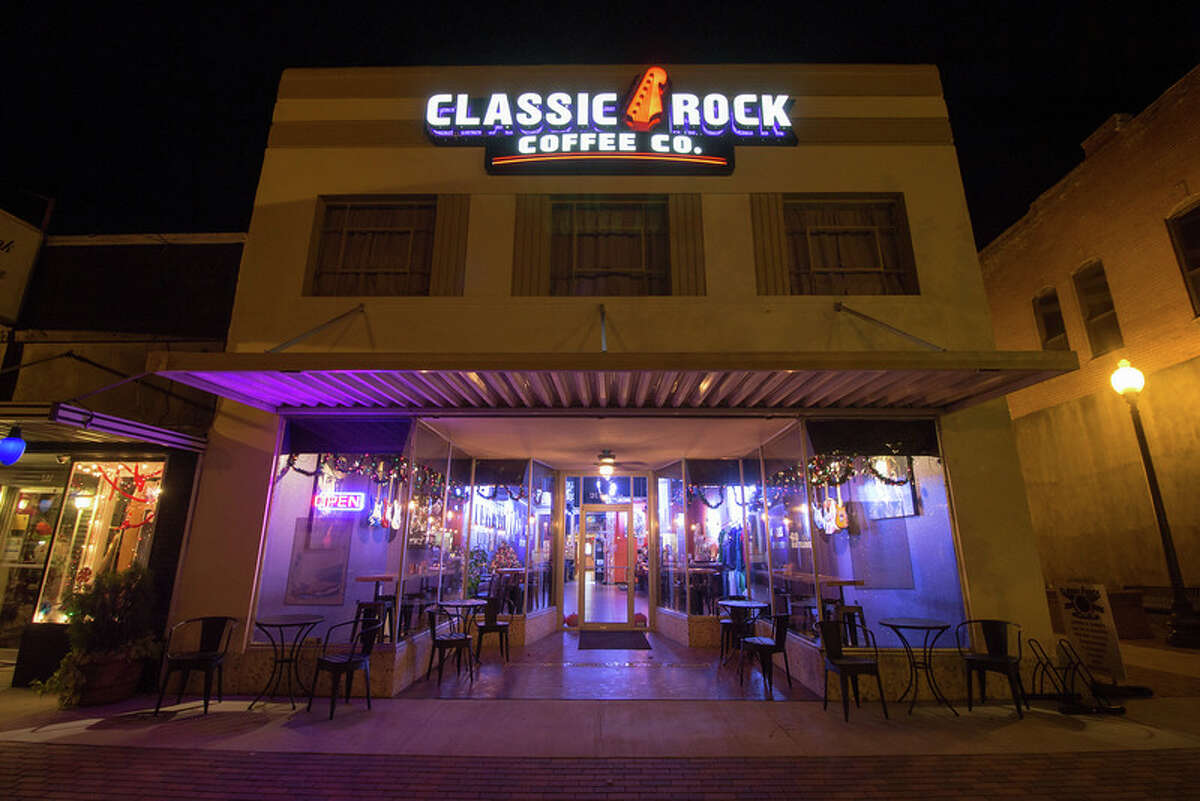Classic Rock Coffee Company has opened its first Texas franchise, and others are under consideration for the Houston area.