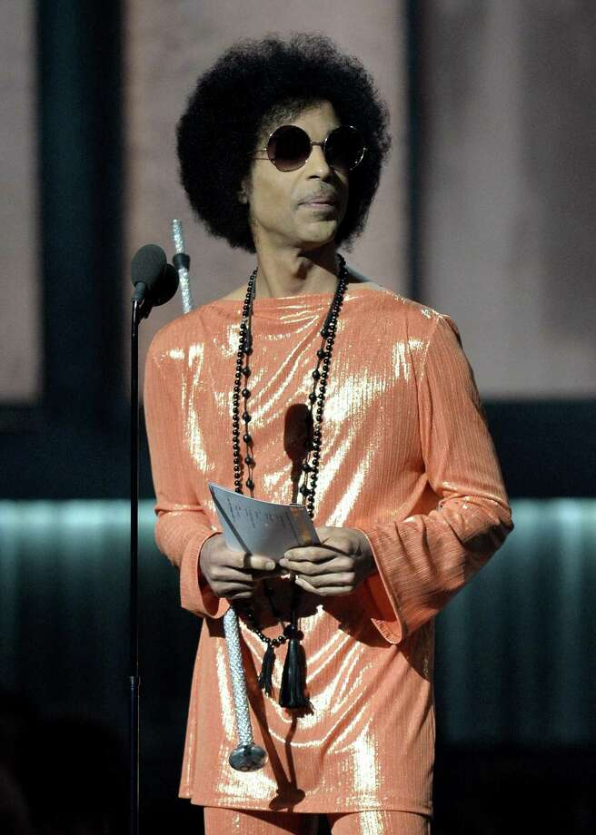 """The Prince estate and the different music companies representing his rights have been working feverishly over the past few weeks to get songs like """"Purple Rain"""" on streaming services in time for the Grammys. The annual awards show on Sunday will feature a tribute to Prince. Photo: AFP /Getty Images /File Photo / AFP"""