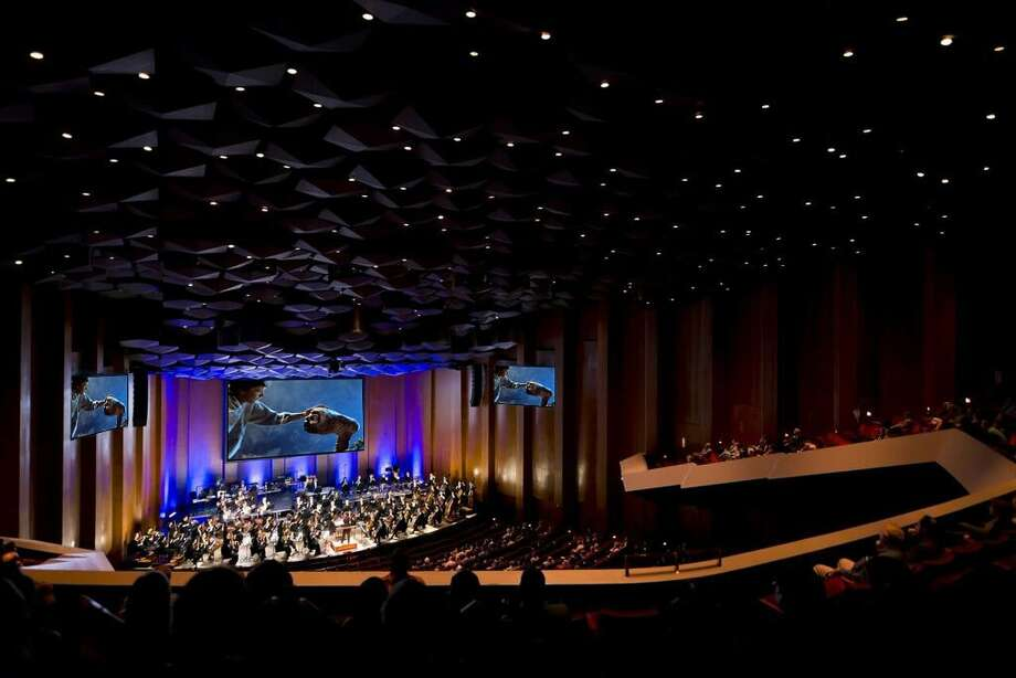 "On Feb. 9, the Houston Symphony payed tribute to the classic film ""E.T."" by presenting the film's full score."