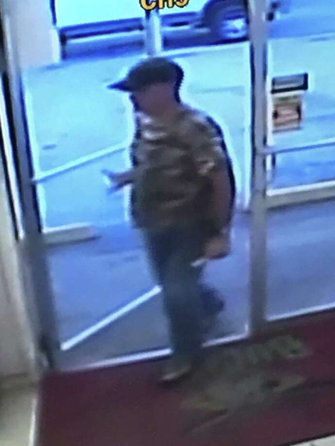 Lee Arms, 44, is believed to be the man in these surveillance photos from a gas station near San Antonio. He went missing on Sunday, Feb. 5, 2017. Photo: Facebook