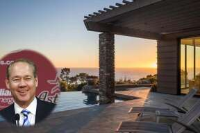 Houston Astros owner Jim Crane has listed his 12,000-square-foot Pebble Beach, Calif. home for $37.9 million. (Photos provided by  Realtor.com )