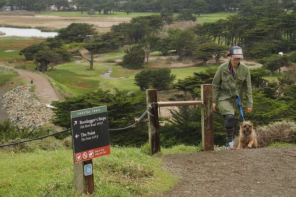 Because much of Pacifica is bordered by public lands and green space, there are plenty of trails, including one up to Mori Point, a coastal bluff with great views.