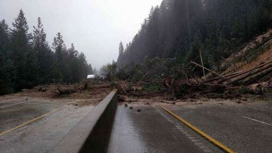 A mudslide closed a section of Interstate 80 in Truckee Friday, officials said. Photo: Cody Palmer / / Courtesy Of Cody Palmer
