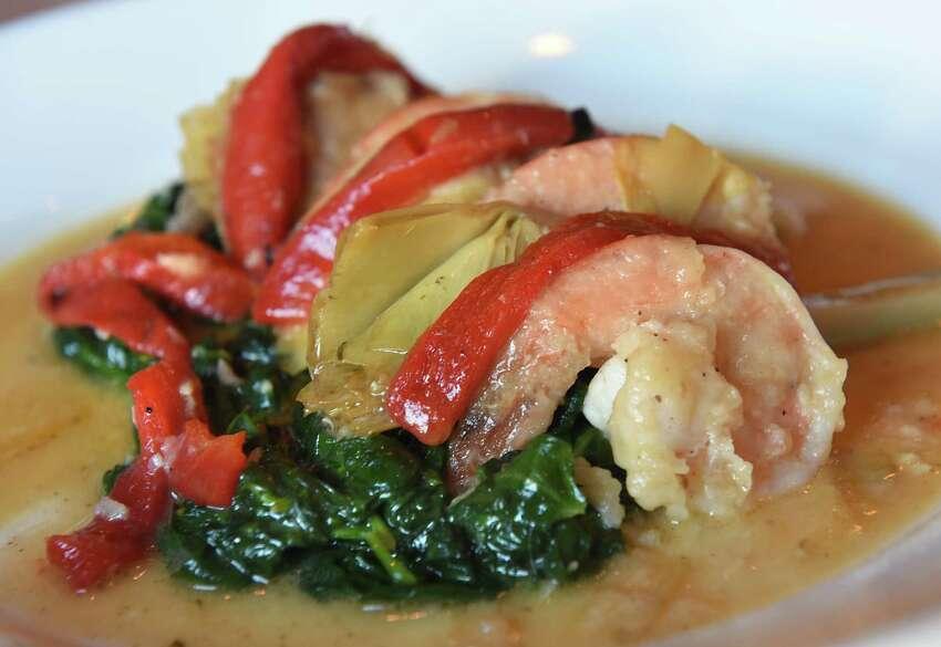 Shrimp verde at Cornell's restaurant at 39 N Jay St. on Thursday Feb. 2, 2017 in Schenectady, N.Y. (Lori Van Buren / Times Union)