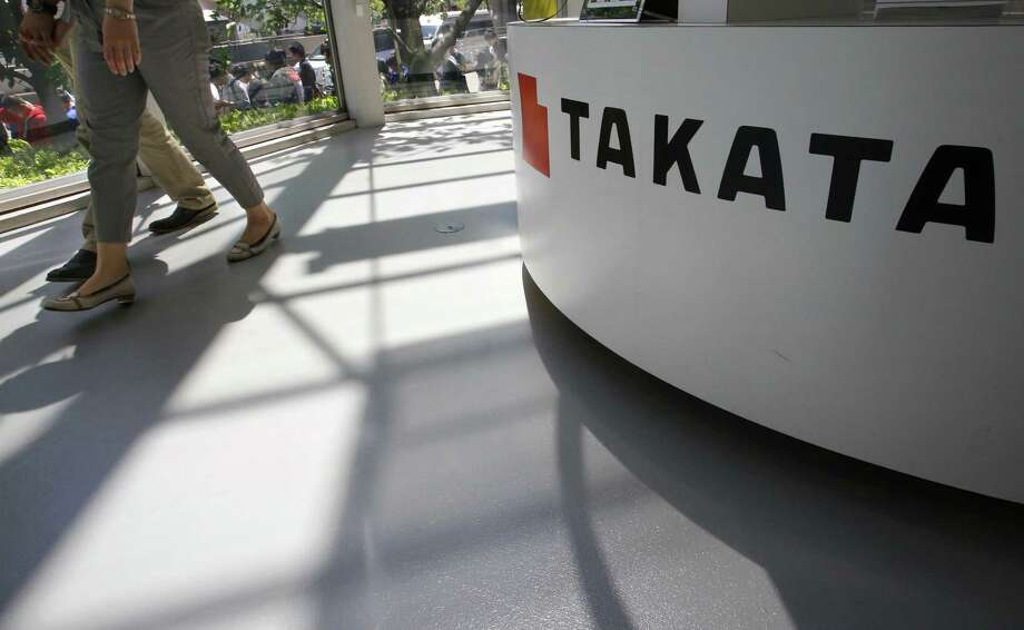 Takata Corp., the troubled air-bag maker behind the biggest auto safety recall, said it will probably report a third consecutive annual loss as it booked a one-time charge after agreeing to settle a U.S. criminal investigation. Photo: Associated Press /File Photo / Copyright 2016 The Associated Press. All rights reserved. This material may not be published, broadcast, rewritten or redistribu