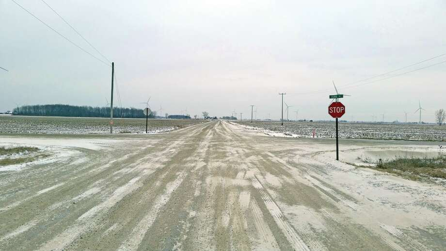 This intersection, quiet on Friday afternoon, was the scene of a fatal accident Thursday. Photo: Bill Diller/For The Tribune