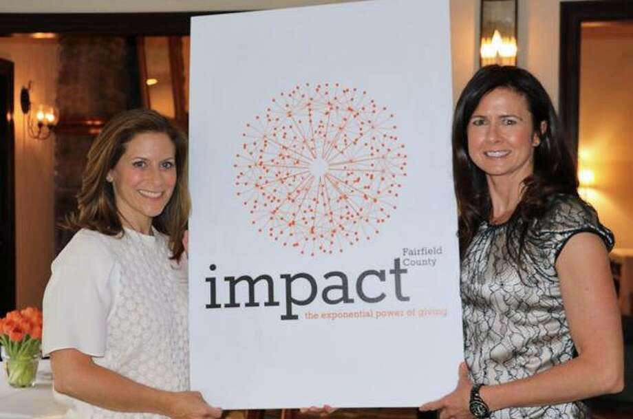 Wendy Block, left, and Vicki Craver are co-founders and co-presidents of Impact Fairfield County. Photo: Contributed Photo / Greenwich Time Contributed