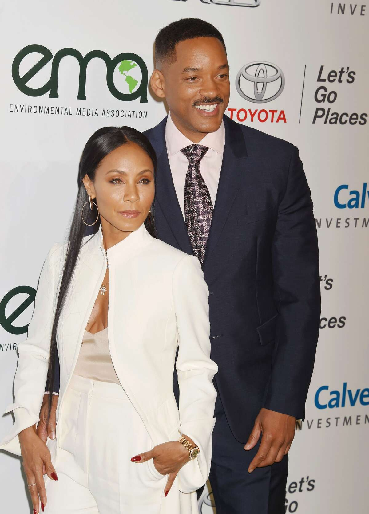"""Jada Pinkett Smith and Will Smith The actor told ET, """"""""We've been married 20 years and we've been asking ourselves [what's the secret to marriage]and really at the end of the day it's just not quitting... You can't expect it to be easy, it's like our marriagewas the most difficult, grueling, excruciating thing that we have ever taken on in our lives. And you know were just not quitters."""""""