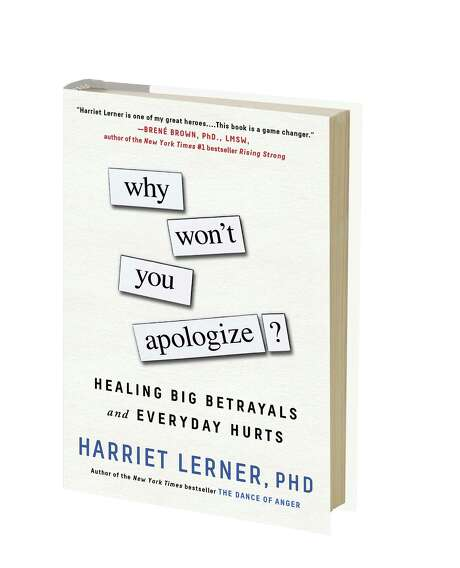"""Why Won't You Apologize? Healing Big Betrayals and Everyday Hurts"" Photo: Courtesy"