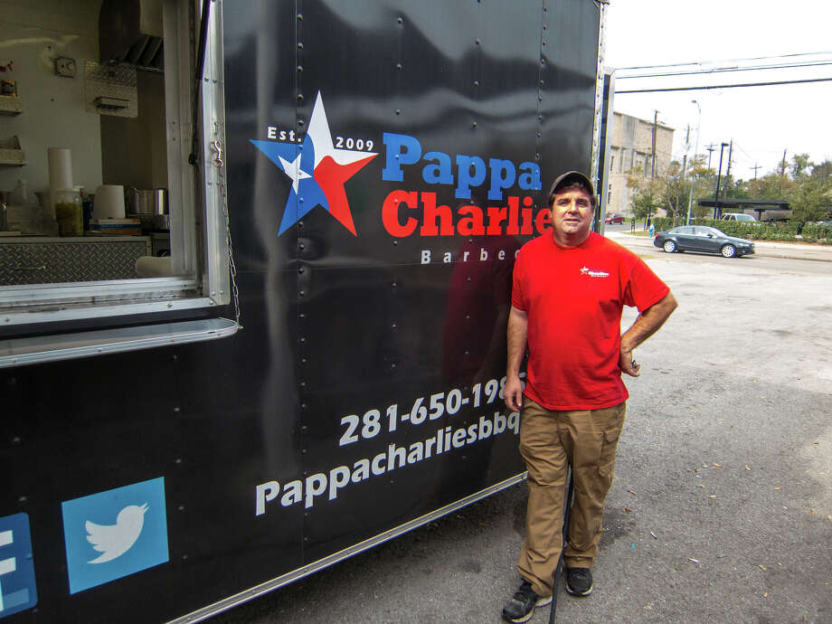 Wesley Jurena of Pappa Charlies Barbeque exemplifies the Bayou City's barbecue-startup culture. Photo: J.C. Reid / ONLINE_YES
