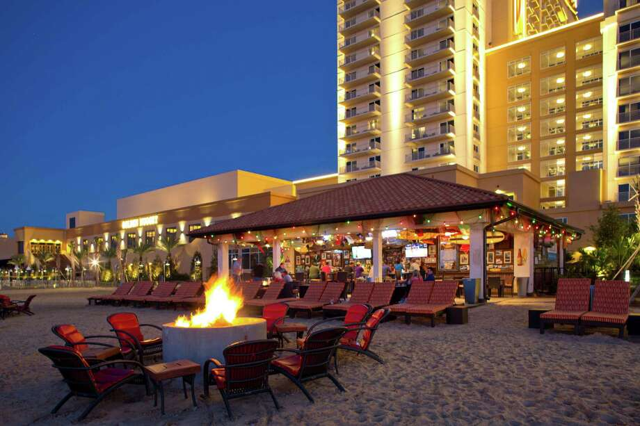 The Golden Nugget Lake Charles has its own beach. Photo: Golden Nugget Lake Charles
