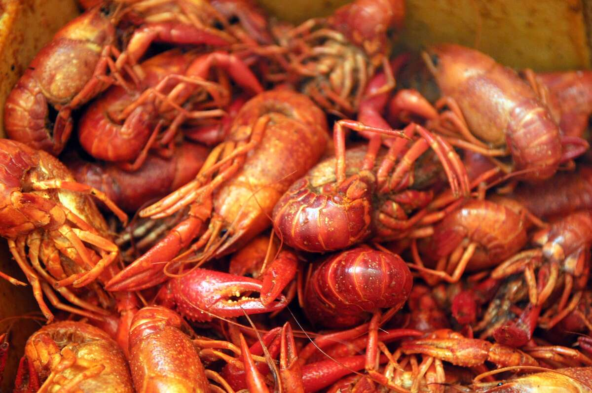 PHOTOS: Where to get the best crawfish in Houston A couple from Baton Rouge has developed an app to help crawfish fiends find crawfish around the Gulf Coast. It's taken off in Houston's crowded mud bug scene. Click through to where Chron food writers get their fix...