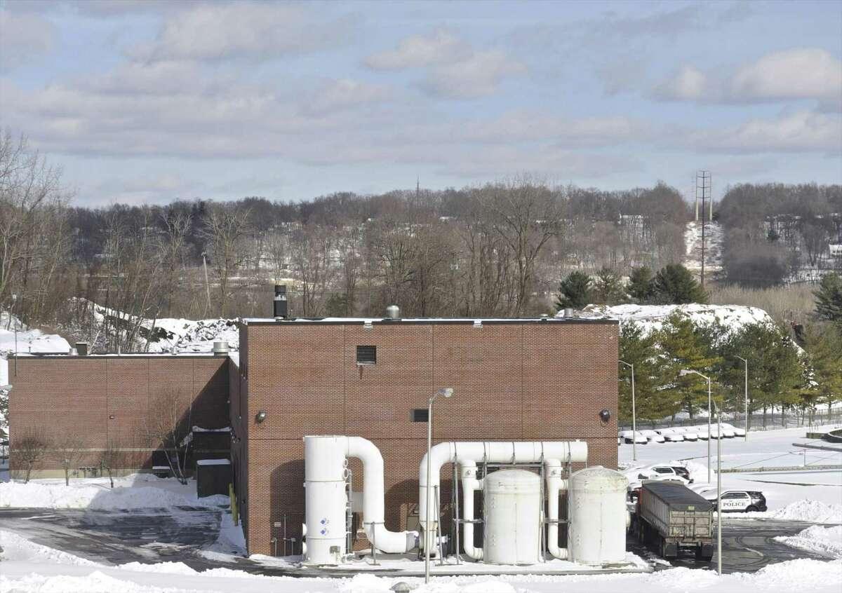 The City of Danbury wastewater treatment plant, Friday, February 10, 2017, in Danbury, Conn.