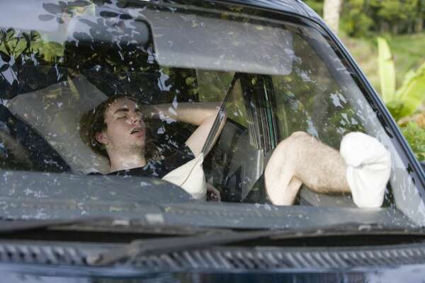Don't sleep in your car if you're drunk    If you pass out in your car because you don't want to drive, you'll get charged with public intoxication, Friendswood police say.