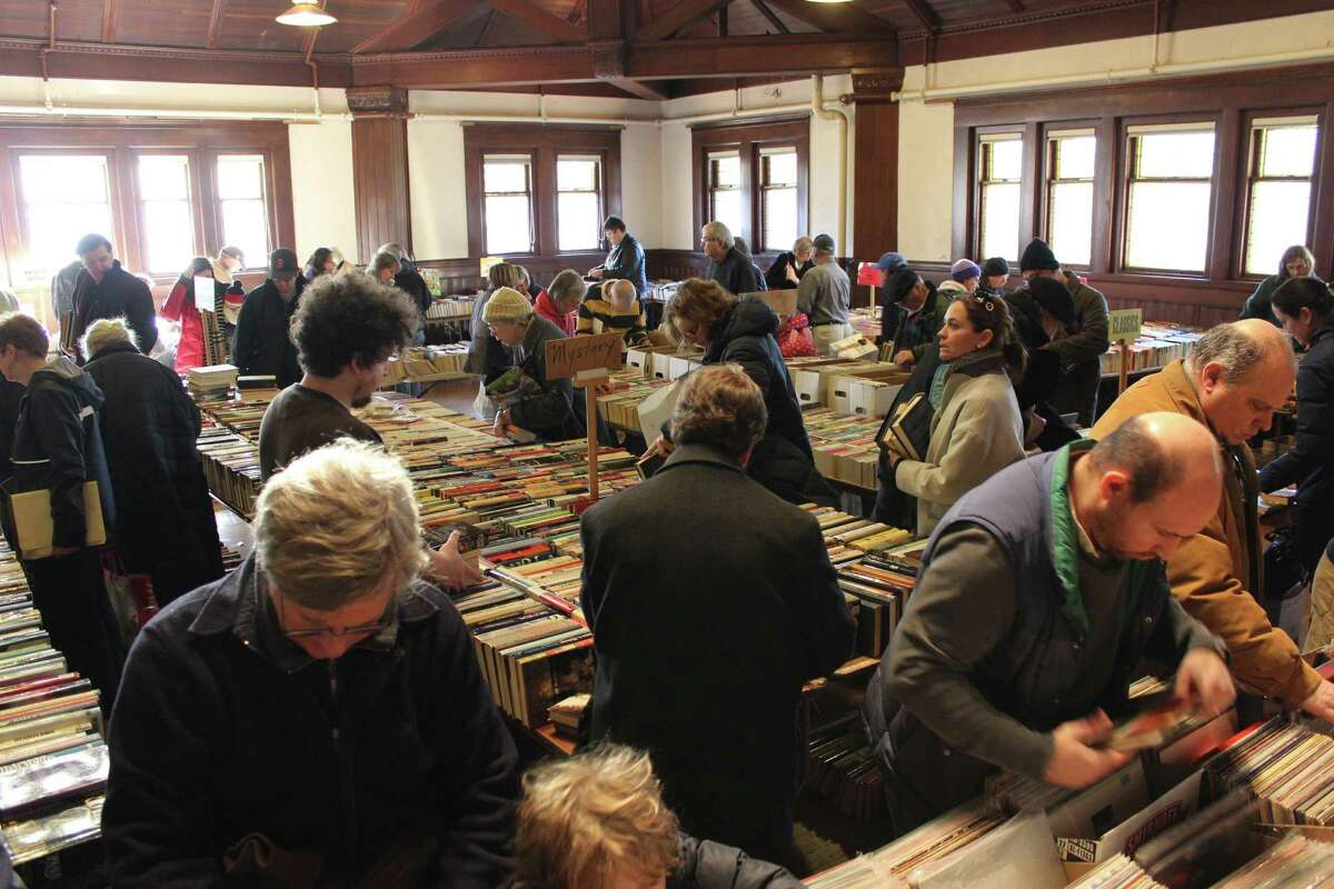 The Pequot Library's popular Mid-Winter Book Sale will be held onSaturday and Sundayin Fairfield. Find out more.