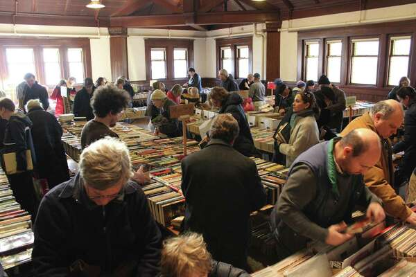 The Pequot Library's popular Mid-Winter Book Sale is scheduled for Saturday-Sunday, Feb. 18-19 in Fairfield. Photo is from the 2016 event.