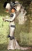 "Promo shot for ""My Fair Lady,"" starring Audrey Hepburn"