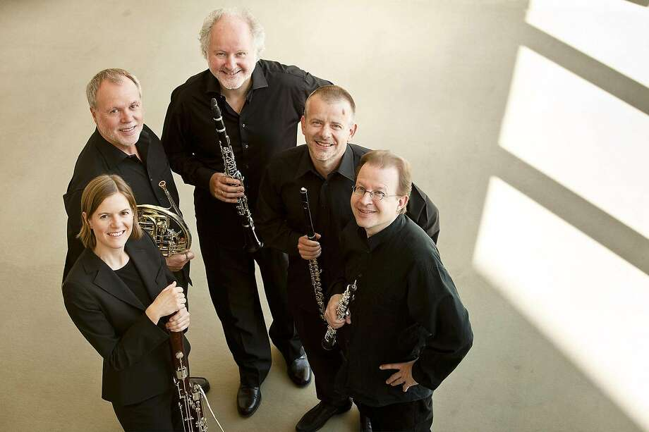 The Wind Quintet is made up of Berlin Philharmonic members. Photo: Peter Adamik