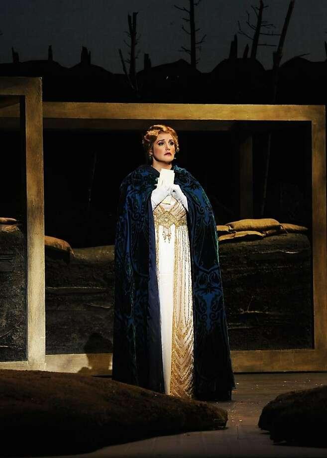 Julie Adams as Anna Sorensen in Opera San José's production ofSilent Night. Photo: Pat Kirk