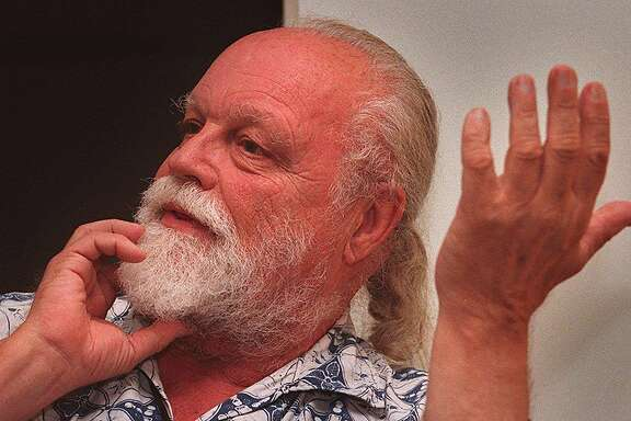 HARRISON2/07SEP95/DD/MACOR   Composer Lou Harrison, did an original composition for SF Symphony which premiered at Wednesdays opening night.  Chronicle Photo: Michael Macor ALSO RAN 03/04/2002, 02/04/03, 02/19/03, 06/10/03