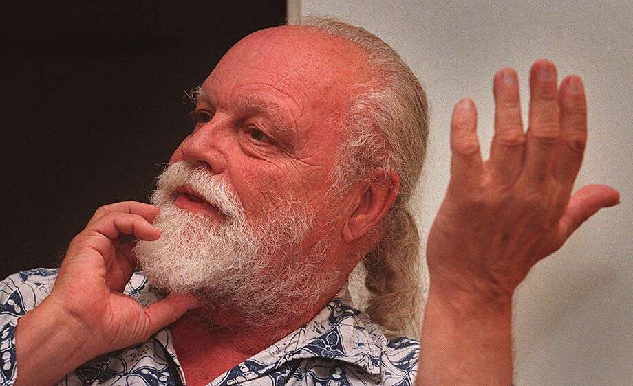 HARRISON2/07SEP95/DD/MACOR   Composer Lou Harrison, did an original composition for SF Symphony which premiered at Wednesdays opening night.  Chronicle Photo: Michael Macor ALSO RAN 03/04/2002, 02/04/03, 02/19/03, 06/10/03 Photo: MICHAEL MACOR