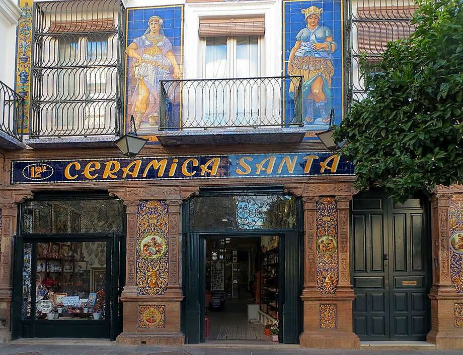 In Sevilla's Triana district, vintage storefronts proudly display the neighborhood's ceramic heritage. Photo: Suzanne Kotz, Rick Steves' Europe