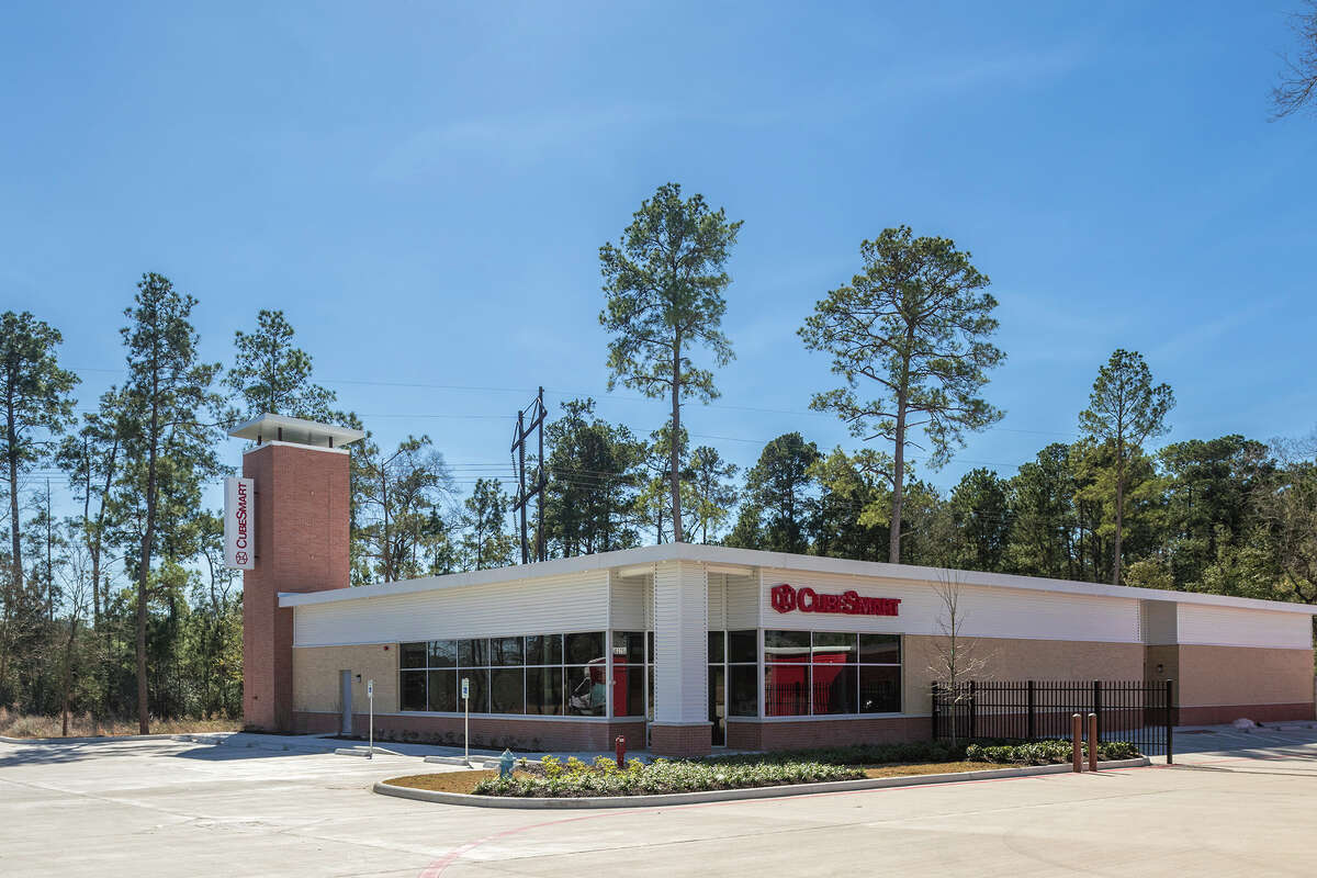 This 654-unit self-storage property is at 6375 College Park Drive in The Woodlands.