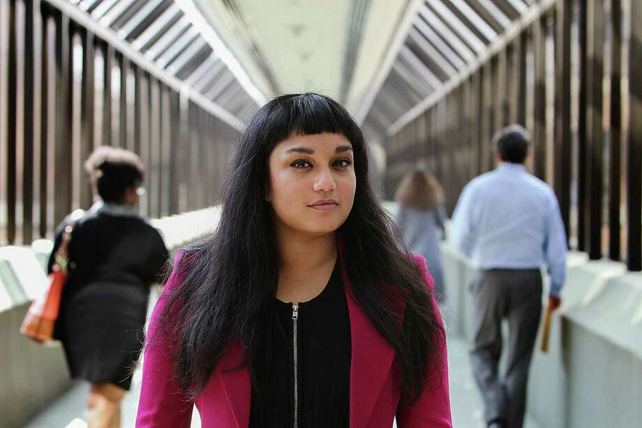 Monica Uddin is a commercial lawyer who rushed to IAH to help with her first immigration cases. She says strangers hugged her and flight crews even dropped off food. She is prouder than ever to say these days that she is a lawyer. Uddina was photographed Wednesday, Feb. 8, 2017, in Houston. ( Steve Gonzales  / Houston Chronicle ) Photo: Steve Gonzales, Staff / © 2017 Houston Chronicle