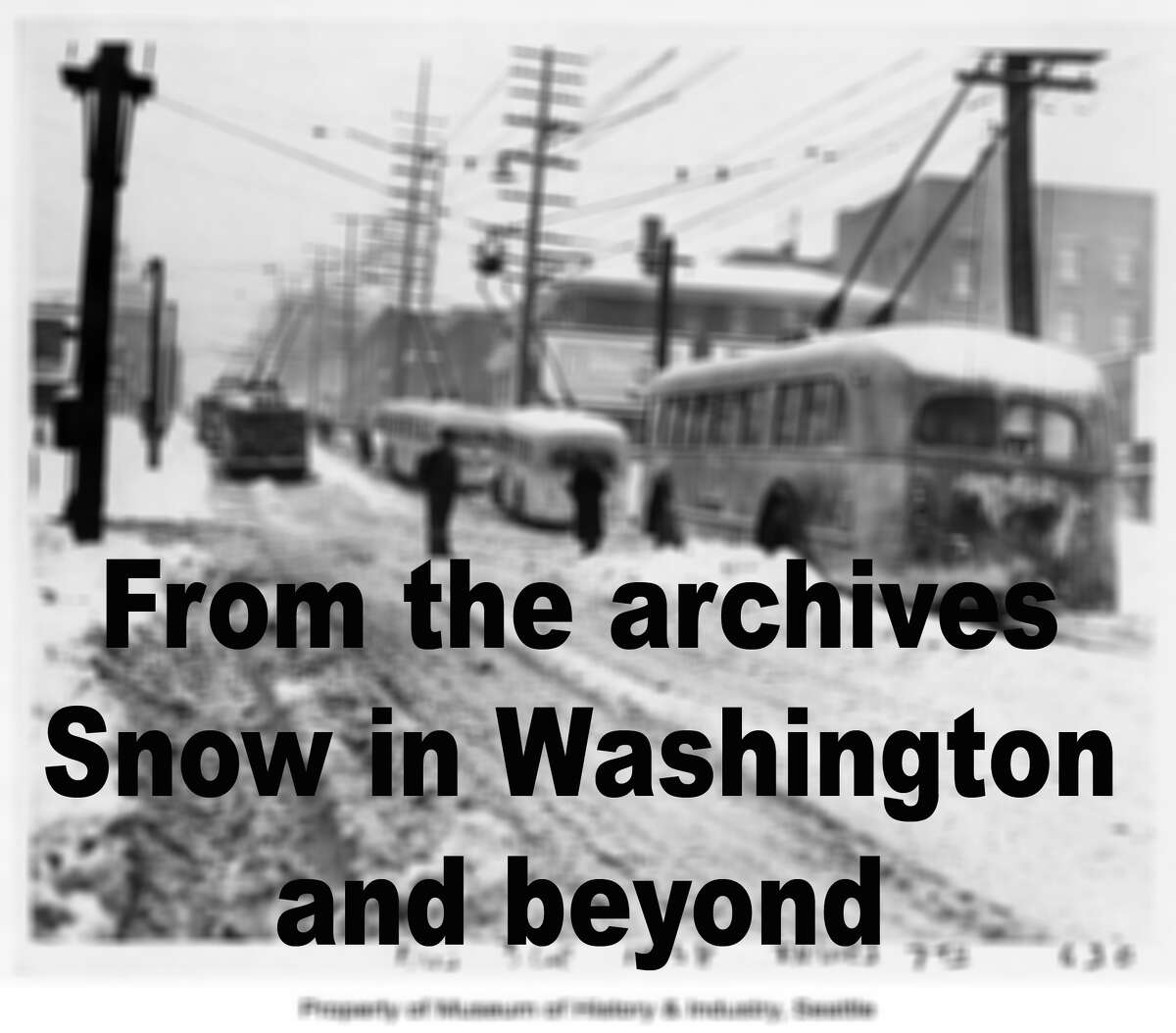Washington snow and skiing from yesteryear.