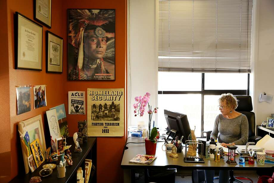 Hedi Framm-Anton, an immigration attorney, at her offices in the Mission District in San Francisco, says calls from people living in U.S. illegally are surging. Photo: Santiago Mejia, The Chronicle