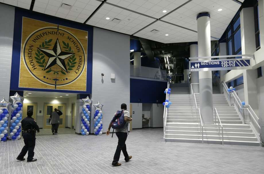 The Delmar Fieldhouse, 2020 Mangum Road, is shown Friday, Feb. 10, 2017, in Houston. ( Melissa Phillip / Houston Chronicle ) Photo: Melissa Phillip/Houston Chronicle