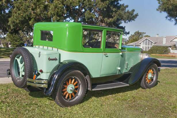 Photographs of Willam R. (Bill) Wood and his 1928 Franklin Airman Victorie Sedan photographed in Ocean Colony in Half Mooon Bay, California on December 28, 2016 for My Ride published in the San Francisco Chronicle.